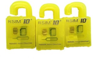 RGKNSE Rsim10+ Sim AdapterPlastic, Stainless Steel, Silicon