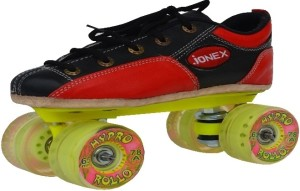 Jonex Rollo Quad Roller Skates - Size 2 US