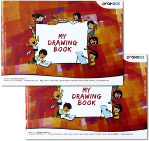 Prahaas Drawing Books with Butter Paper Sketch Pad