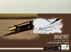Brustro Calligraphy Papers 175 GSM A3 Sketch Pad