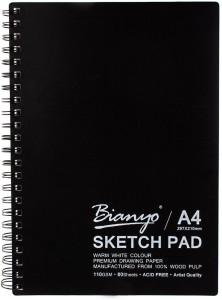 Bianyo Artist Quality Acid Free A4 Size 110 GSM Sketch Pad