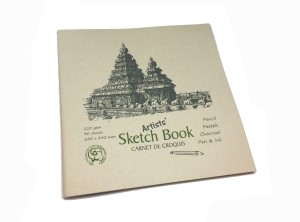 Creates & Designs Artists' Sketch Book Square 240 x 240 mm Sketch Pad