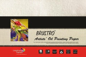 Brustro Artists Oil Painting Papers 300 gsm 7 x 10 inch Sketch Pad