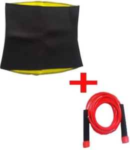 Instafit Hot Waist Shaper Belt With Free Freestyle Skipping Rope