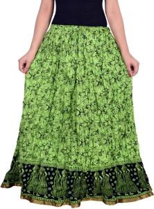 Magnus Printed Women's Wrap Around Multicolor Skirt