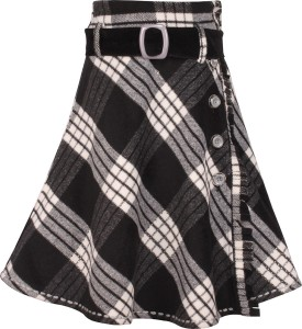 1d4051cc95 Cutecumber Checkered Girls A line Black Skirt Best Price in India |  Cutecumber Checkered Girls A line Black Skirt Compare Price List From  Cutecumber Skirts ...