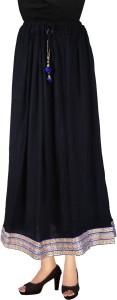 Magnus Solid Women's Regular Multicolor Skirt