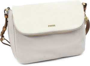 2b4b979d9 Fossil Women White Grey Genuine Leather Sling Bag Best Price in India | Fossil  Women White Grey Genuine Leather Sling Bag Compare Price List From Fossil  ...