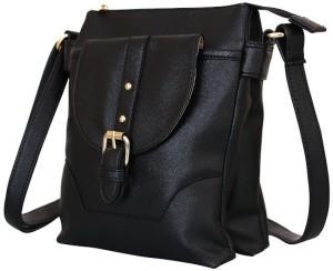 e49e647373f5d Lychee Bags Women Black PU Sling Bag Best Price in India   Lychee Bags  Women Black PU Sling Bag Compare Price List From Lychee Bags Sling Bags  4563973   ...