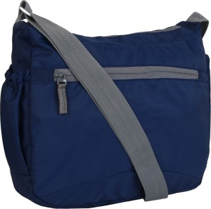 Favria Men Women Blue Grey Polyester Sling Bag Best Price in India ... 5f96e901e