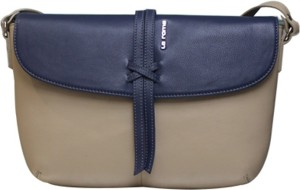 ddc9f2936868 La Roma Women Beige Genuine Leather Sling Bag Best Price in India ...