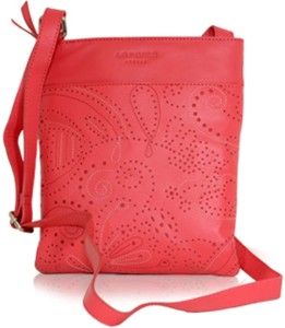 a0dbe70ac472 La Roma Women Pink Genuine Leather Sling Bag Best Price in India ...