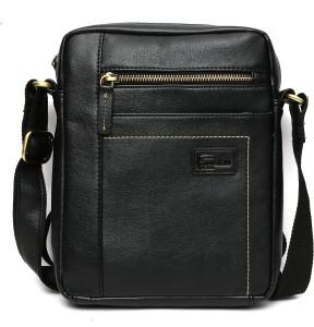 Cuzdan Men Black Leatherette Messenger Bag Best Price in India ... 97d1d74d69fe0