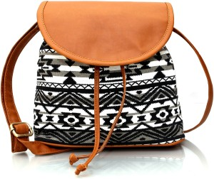 a2d3f60bed30 Lychee Bags Girls Multicolor Canvas Sling Bag Best Price in India ...