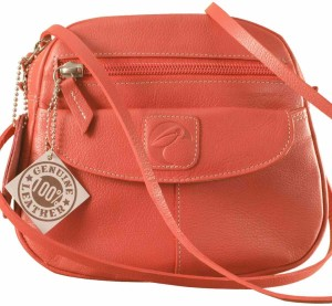 eZeeBags Women Pink Genuine Leather Sling Bag Best Price in India ... 6e0d901db9