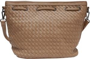 5fc98aaf751 Pepgirls Women Brown Leatherette Sling Bag Best Price in India ...
