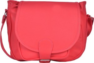 d86652f602 Prettyvogue Women Pink PU Sling Bag Best Price in India ...