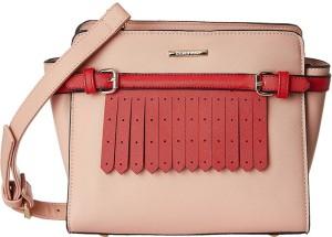 eedd7a8640 Diana Korr Women Pink Red PU Sling Bag Best Price in India