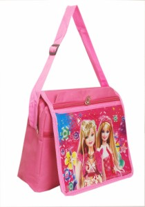 Zest Girls Pink Polyester Sling Bag