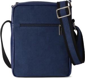 Baggit Men Blue Rexine Sling Bag Best In India Compare List From Cross Body Bags 15289886 Hatke
