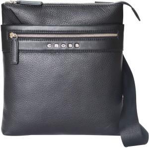 Cross Men Black PU Sling Bag Best Price in India  f4bdf16d8ed72