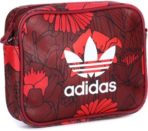 f2d87a3475d2 Adidas Women Red Maroon Multicolor Sling Bag Best Price in India ...