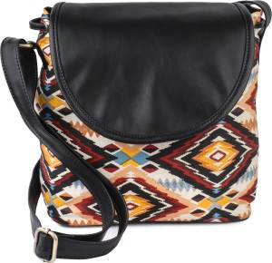 ec2f30666df Lychee Bags Women Casual Multicolor Canvas Sling Bag Best Price in India