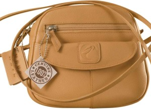 eZeeBags Women Tan Genuine Leather Sling Bag Best Price in India ... 1c9a2ccd3d
