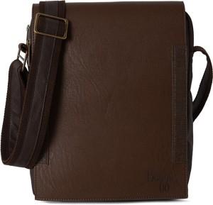 57240d7ebc50 Baggit Men Brown Rexine Sling Bag Best Price in India