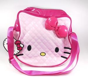 Kidofash Girls Pink Leatherette Tote