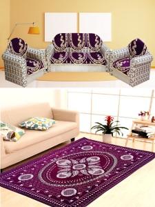 Mangal Velvet Sofa Cover
