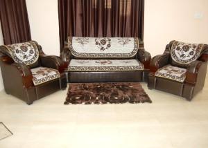 Balaji Velvet Sofa Cover