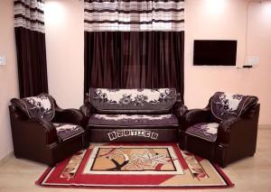 Azotica Velvet Sofa Cover