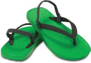 e4375db068c1 Crocs Boys Slipper Flip Flop Green Best Price in India