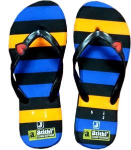 89f7f5a4a252 Atithi Girls Slipper Flip Flop Blue Best Price in India