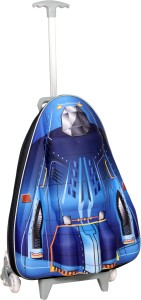 T-Bags 3D Space Shuttle Blue Kid's Trolley Small Travel Bag  - Small