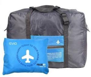 Evio Fold2go Waterproof Folding Small Travel Bag  - Medium