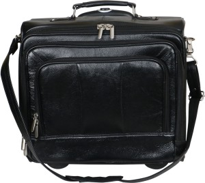LEATHER COLLECTION LC_0056_BLACK Small Travel Bag