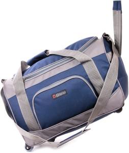 0351dcbe5 Bleu Wheeler Small Travel Bag Standard Blue Grey Best Price in India ...