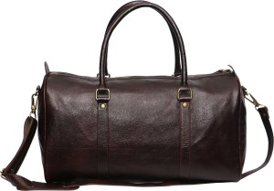 C Comfort Genuine Leather 18 Inch Small Travel Bag
