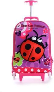 T-Bags 3D Ladybug Trolley Bag Small Travel Bag  - Small