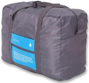 Uberlyfe Blue Waterproof Large Capacity Folding Small Travel Bag  - Large