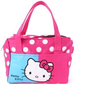 EZ Life Pink Dots Hello Kitty (Small) Small Travel Bag