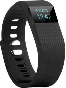 Aksmy TW64 Health Waterproof Fitness Band Monitor your sleep, Smart reminder, Sedentary alert, Counts calories burn, Pedometer, Distance walked, Clock Fitness Band