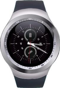 Shan LG Google Nexus 5 Silver Smartwatch Black Strap Regular
