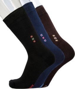 Blacksmith Men's Solid Mid-calf Length Socks