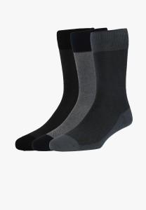 Louis Philippe Mercerised Cotton Men's Mid-calf Length Socks