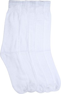 Mikado Solid Charm Men's Solid Crew Length Socks