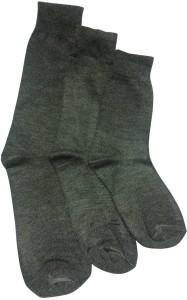 Graceway Boys Solid Crew Length Socks