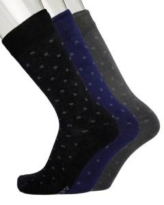 Blacksmith Men's Embellished Mid-calf Length Socks